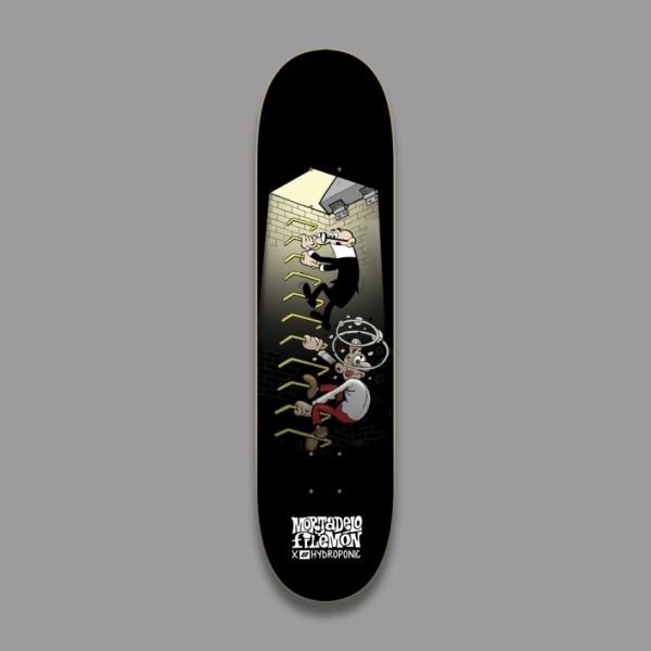 Hydroponic Mortadelo y Filemón Stairs 8,250'' tabla de skate