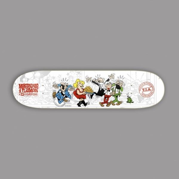 Hydroponic Mortadelo y Filemón TIA 8,375'' tabla de skate