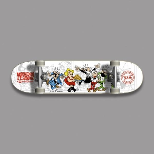 Hydroponic Mortadelo TIA 7,75'' skateboard completo