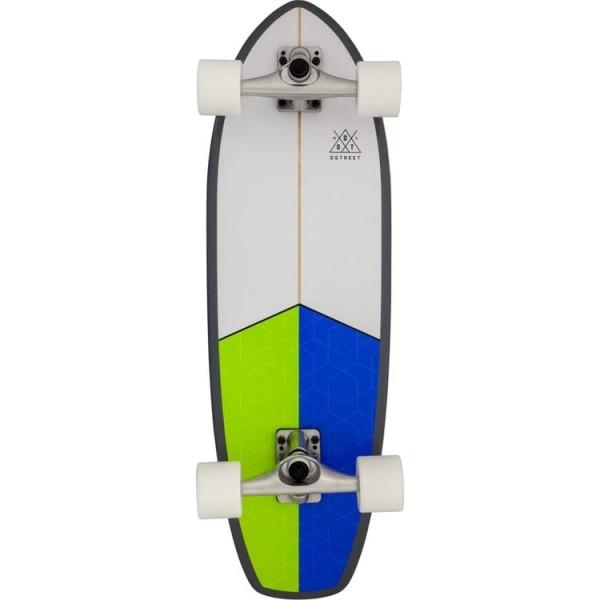 """D Street Tidal 9,75"""" surfskate completo"""
