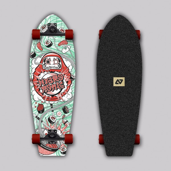 Hydroponic Trento sushi 28''  Surfskate completo