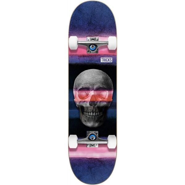 Tricks Skull 7.75'' Skateboard completo