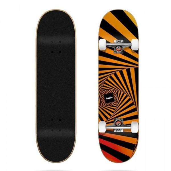 Tricks psychedellic 8'' Skateboard completo