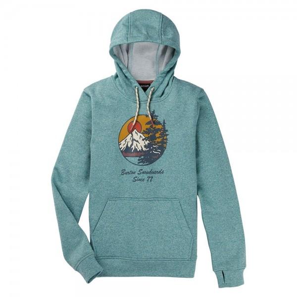 Burton Oak pullover trellis heather 2021 sudadera técnica de mujer-M