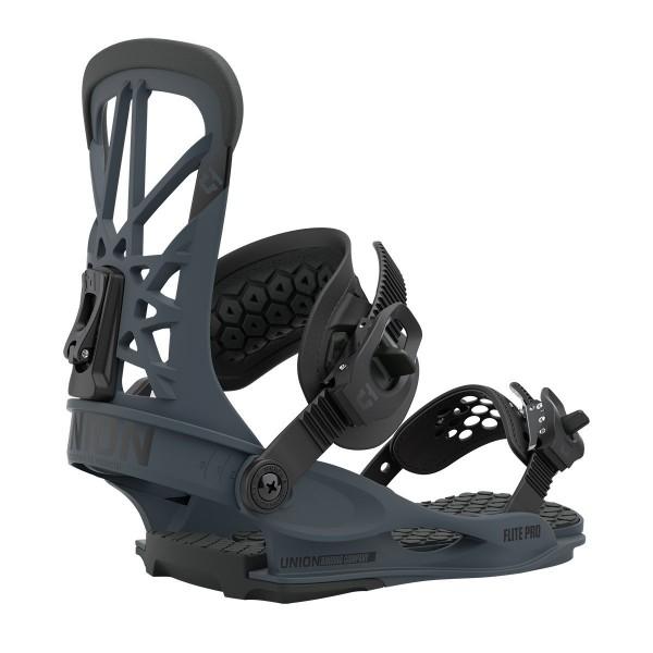 Union Flite Pro dark grey 2021 Fijaciones de Snowboard