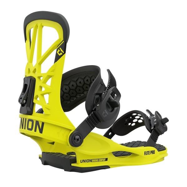 Union Flite Pro yellow  2021 Fijaciones de Snowboard