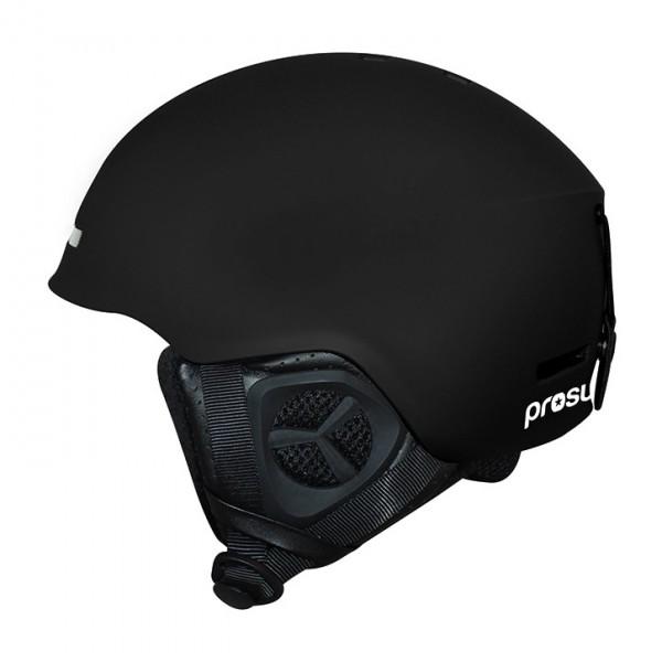 Prosurf Unicolor Mat black 2021 casco de snowboard y skate