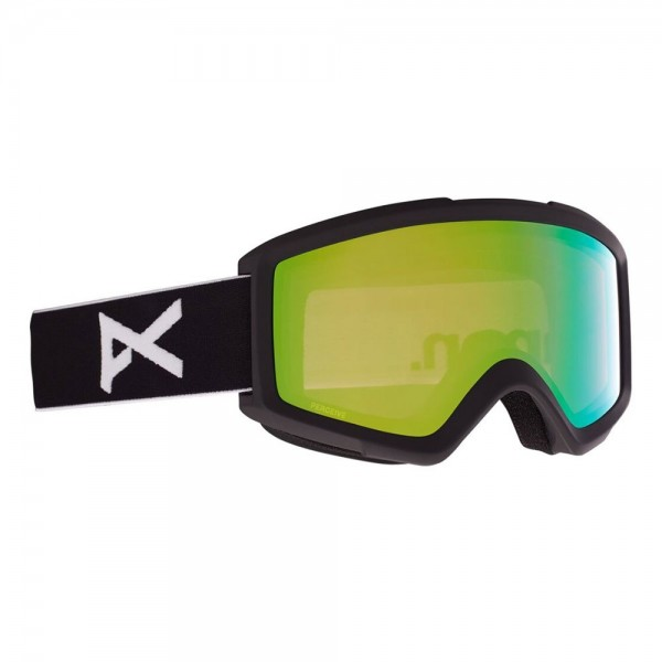 Anon Helix perceive black variable green 2021 gafas de snowboard