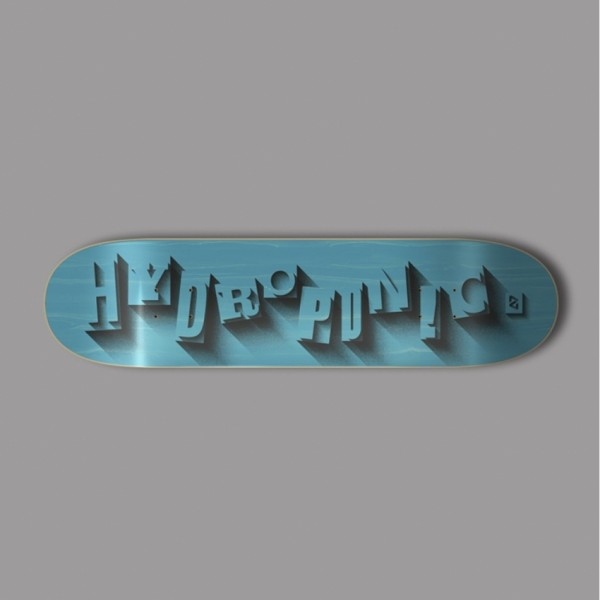 Hydroponic Volume cian 7,875'' tabla de skate