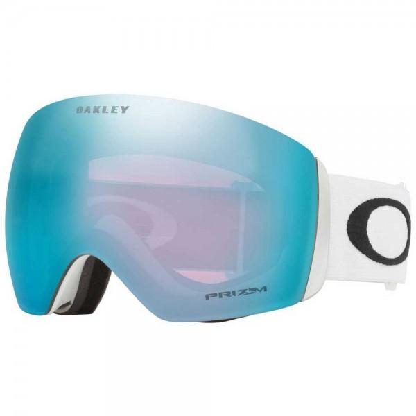 Oakley Flight Deck matte white prizm sapphire 2021 gafas de snowboard