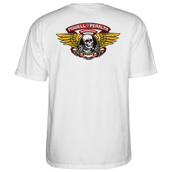 Powel Peralta Winged Ripper white 2020 camiseta