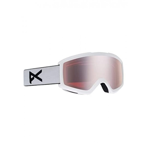 Anon Helix white silver amber 2021 gafas de snowboard