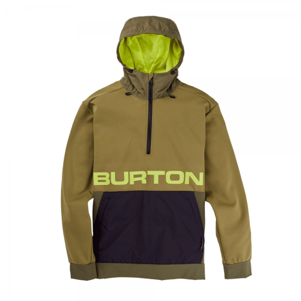 Burton Crown Wpf performance po martini olive 2021 sudadera técnica-L