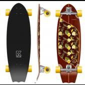 Flying wheels Moorea plumeria 31'' Surfskate completo