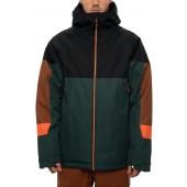 686 Static Insulated dark spruce colorblock 2021 chaqueta de snowboard