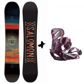 Salomon Pulse + Rhythm 2019 pack de snowboard