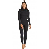 Billabong Furnace Synergy Chest Zip GBS 4/3mm blackTraje de neopreno de mujer