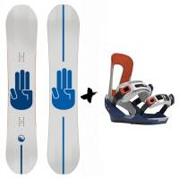 Bataleon Chaser + Fijaciones Switchback 2020 Pack de snowboard