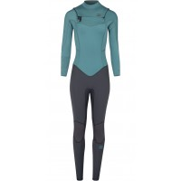 Billabong Furnace Synergy Chest Zip GBS 4/3mm pine Traje de neopreno de mujer