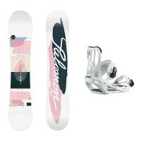 Salomon Lotus + Salomon Spell Pack Snowboard mujer