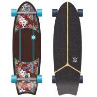 Flying wheels Kauai Parrot 31'' Surfskate completo