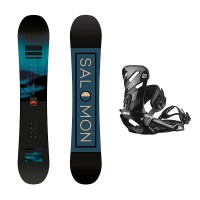 Salomon pulse wide + Salomon Rhythm 2021 Pack de snowboard
