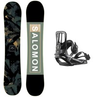 Salomon Subject + Salomon Maker 2020 Pack de snowboard