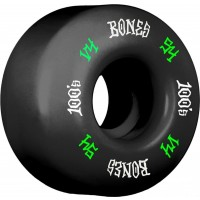 Bones 100´s #12 V4 54mm black Ruedas de skateboard