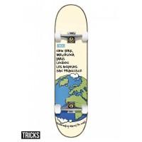 Tricks World 8'' Skateboard completo
