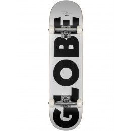 "Globe G0 Fubar 8"" White Black Skateboard completo"
