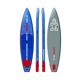 "Starboard Hinchable Touring Deluxe 11,6´ x 30"" pack completo paddle surf"