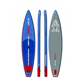 "Starboard Hinchable Touring Deluxe 12,6´ x 31"" pack completo paddle surf"