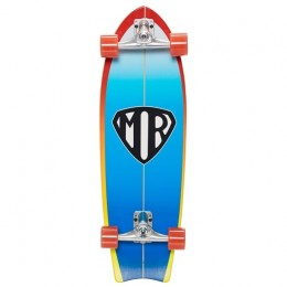 Quiksilver Mr Super 31'' Blue Surfskate Completo