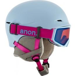 Anon Define artic blue 2018 casco de snowboard de niño