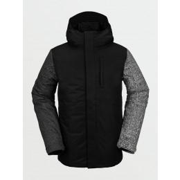 Volcom 17 Forty Ins black check 2021 chaqueta de snowboard