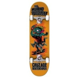 Cruzade The mutant speed freak 8.0'' Skate completo