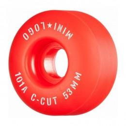 Mini logo A cut 53mm 101A red Ruedas de skateboard