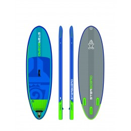 "Starboard Hinchable Surf Converse Zen 9' x 30"" pack completo paddle surf"