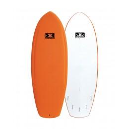 "Ocean Earth Fester 5'2"" Orange Softboard"