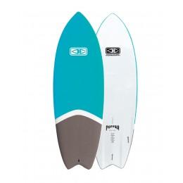 "Ocean Earth Puffer 5'4"" Blue fish Softboard"