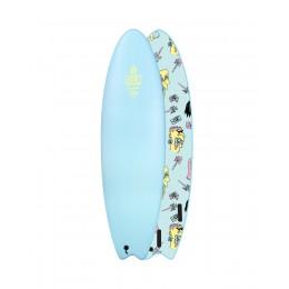 "Ocean Earth Brains EZI rider 6'6"" sofboard"