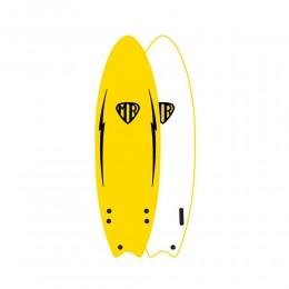 "Ocean Earth MR ezi rider 5'6"" yellow softboard"