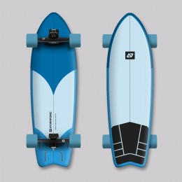 Hydroponic Surf Azul Surfskate completo