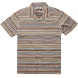 Vissla Baja del Sur rusty red 2020 camisa