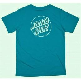 Santa Cruz Opus Dot Stripes blue 2021 camiseta de niño