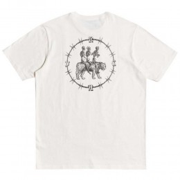 Rvca Skeleton walk antique white 2021 camiseta
