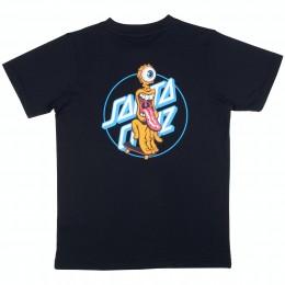 Santa Cruz Grip Dot black 2021 camiseta de niño