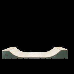 Mad Ramps Mini half pipe 60cm x 125cm Rampas de skateboard