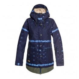 DC Riji dark blue 2019 chaqueta de snowboard de mujer