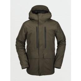 Volcom Ten Insulated Gore-tex black military 2021 chaqueta de snowboard